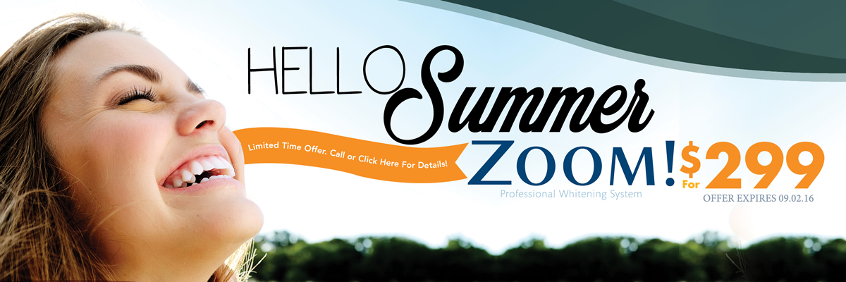 Dentist Oakville - Burloak Centre Dentistry - Summer Zoom Banner