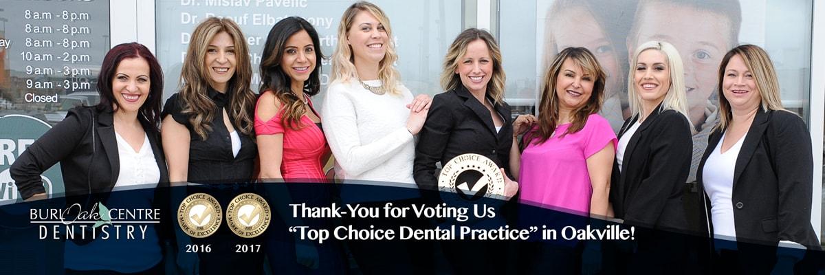 Dentist Oakville - Burloak Centre Dentistry - Banner 7