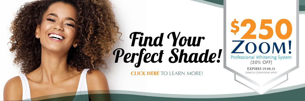 Find your Perfect Shade Burloak Centre Dentistry
