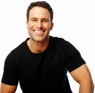 Dentist Oakville - Burloak Centre Dentistry - Smiling Man
