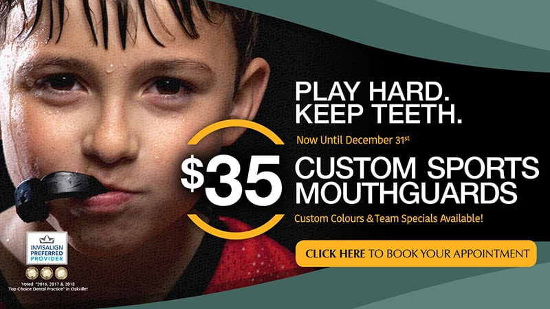 Dentist Oakville - Burloak Centre Dentistry - mouth guard