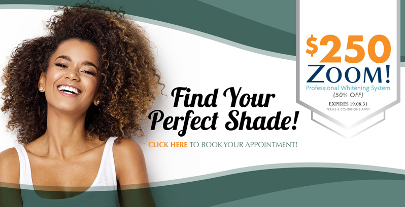 Find your Perfect Shade , Burloak Centre Dentistry