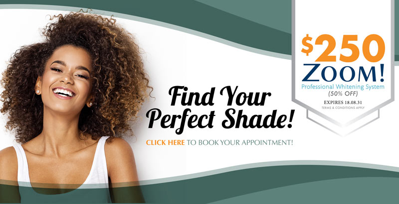 Dentist Oakville - Burloak Centre Dentistry - Find your Perfect Shade